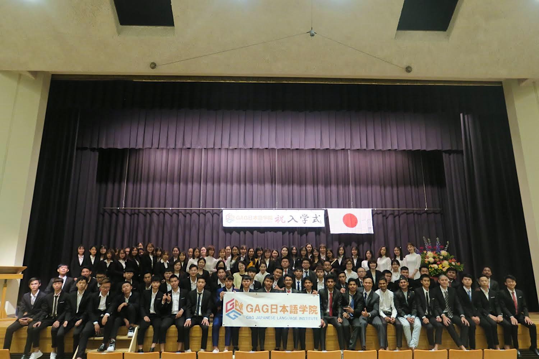 2019年04月期生の入学式